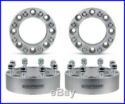 2 Wheel Spacer Adapters 03-17 Ford Excursion F250 F-350 From 8x170 to 8x165.1