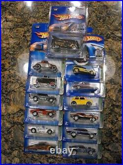 2005 Hot Wheels Super Treasure Hunt Set From Factory Set 13 Cars