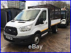 2016 66 Ford Transit twin wheel cage tipper Euro 5 130hp 45k owned from new