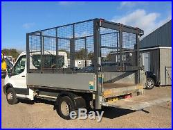 2017 17 Transit Cage Tipper Taillift 26k miles ours from new twin wheel towbar