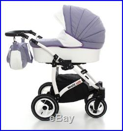 Pram Car Seat Carrycot Travel System 3in1 Pushchair Combi Buggy From Birth NEW!/'