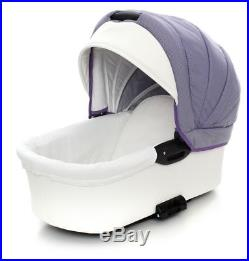 3in1 Pram Car Seat Carrycot Travel System Pushchair Combi Buggy From Birth