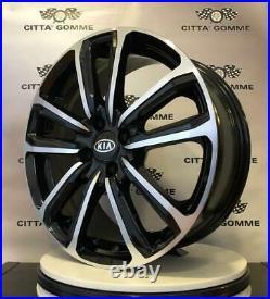 4 Alloy Wheels Compatible Kia Picanto Rio Sephia Shuma Stojnic From 17 , New