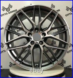 4 Alloy Wheels Compatible Mercedes Classe A B C E Cla Gla GLK Vito From 21 New
