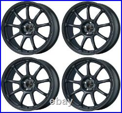 4x Enkei PF09 18x8.5J +45 5x120 for BMW MDG From Japan JDM Wheels Rims