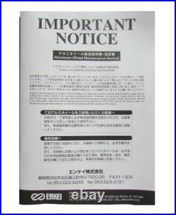 4x Enkei RPF1 15x7.0J +41 4x100 S From Japan JDM Wheels Rims