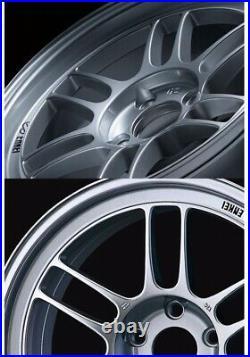 4x Enkei RPF1 18x9.5J +38 5x114.3 S From Japan JDM Wheels Rims