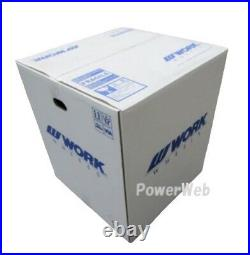 4x Work Emotion D9R 18x9.5 +30 +23 +12 5x114.3 AHG from Japan JDM Wheels Rims