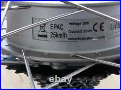 700c electric wheel, taken from Pendleton Somerby bike