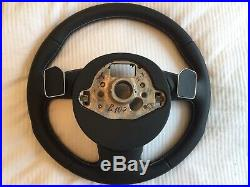 AUDI S4 (B8.5/2012-) STEERING WHEEL (Genuine From Dealer) Brand New. Immaculate