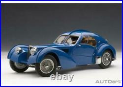 AUTOart 1/18 Bugatti Type 57SC Atlantic 1938 Blue/wire spoke wheels From Japan