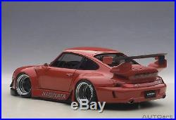 AUTOart 1/18 RWB 993 (Red / Gun Metal Wheel) 78153 ABS From Japan F/S NEW
