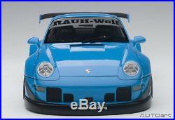 AUTOart 1/18 RWB 993 Sky Blue / Gun Metal Wheel Finished product F/S from Japan