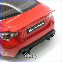 AUTOart Rocket Bunny Toyota 86 Red with Silver Wheels made by 78757 from Japan