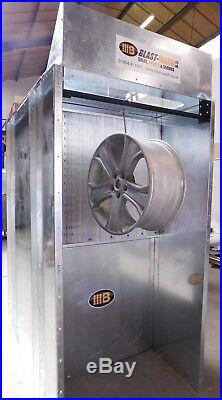 Alloy Wheel Dry Back Powder Coating Booth from £1650 + VAT