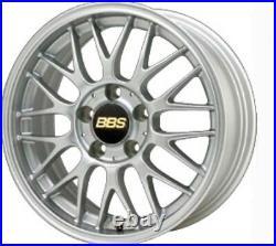 BBS JAPAN RG-F Wheels Silver 16x6.5J +47 5x100 set of 4 RG519 rims from JAPAN
