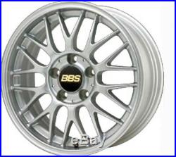 BBS JAPAN RG-F Wheels Silver 16x7.0J +48 5x100 set of 4 RG365 rims from JAPAN