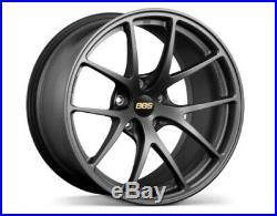 BBS JAPAN RI-A Wheels Matt Gray 18x9.5J +22 5x1114.3 set of 4 RI-A003 from JAPAN