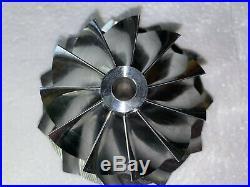 BORGWARNER S400 S475 Turbo 11 Blades Billet Compressor Wheel Drop Upgrade 75 mm