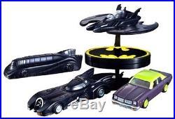 Bandai Chara Wheels Batman (set of 4) From JAPAN Free Shipping