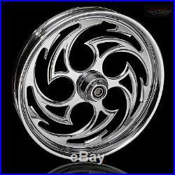 Chrome Hayabusa Custom Predator Wheels from FTD Customs 1999-2017 Hayabusa