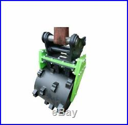 Digger Compactor wheel for excavator, all size machines from 0.75 Ton to 16 Ton