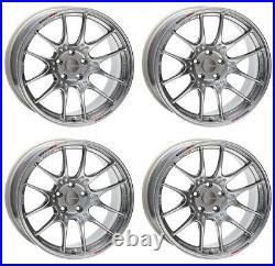 ENKEI GTC02 17x7.5 +35 4x100 HS from Japan 4 rims wheels JDM