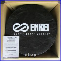 ENKEI GTC02 18x8.0 +35 5x114.3 MBK from Japan 4 rims wheels JDM