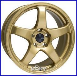 ENKEI PF05 17x7.5 +45 5x100 GO from Japan 4 rims wheels JDM