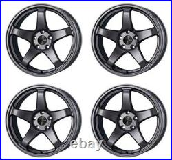 ENKEI PF05 17x8.5 +48 5x114.3 DS from Japan 4 rims wheels JDM