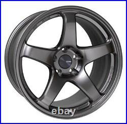 ENKEI PF05 18x8.5 +45 5x114.3 DS from Japan 4 rims wheels JDM