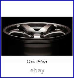 ENKEI PF05 18x9.5 +38 5x114.3 W from Japan 4 rims wheels JDM