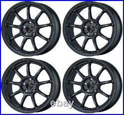 ENKEI PF09 17x9.0 +35 5x114.3 MDG from Japan 4 rims wheels JDM