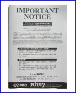 ENKEI PF09 18x8.5 +38 5x114.3 DS from Japan 4 rims wheels JDM