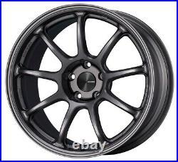 ENKEI PF09 18x9.0 +42 5x114.3 DS from Japan 4 rims wheels JDM