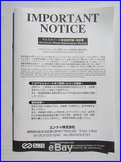 ENKEI PFM1 18x7.5 +48 5-100 G From Japan 1 rim price JDM Wheels