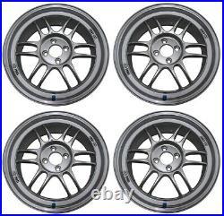 ENKEI RPF1 17x7.0 +43 4x100 S from Japan 4 rims wheels JDM