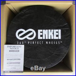 ENKEI RS05RR 18x9 +40 5x100 W From Japan 1 rim price JDM Wheel