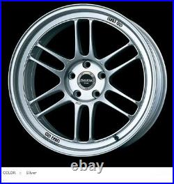 ENKEI Racing RPF1 wheels 17x7.0J +43 4x100 Silver for Yaris/PRIUS C from JAPAN