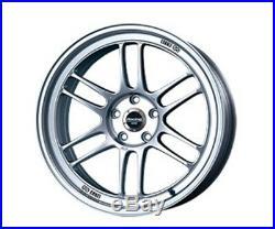 ENKEI Racing RPF1 wheels 18x9.5J +15 5x114.3 Silver set of 4 rims from JAPAN