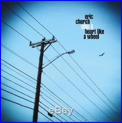 ERIC CHURCH Heart Like a Wheel from DEPSERATE MAN 7 White Vinyl Promo