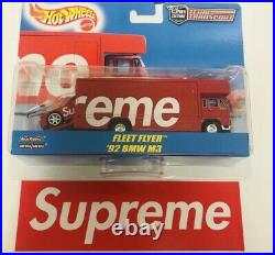 EXTREMELY RARE New Supreme Hot Wheels Fleet Flyer + 1992 BMW M3 FS from Japan