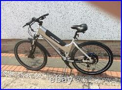 Electric Polaris medium size mountain bike 27inch wheels 204 miles from new