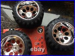 Fg Stadium Truck Marder Beetle Monster Truck Wheels x4 (From New Car)