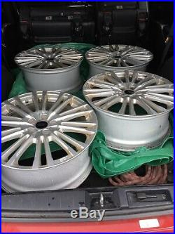 Ford Focus RS MK3 19 Alloy Wheel 20 Spoke Silver from new RS 2017