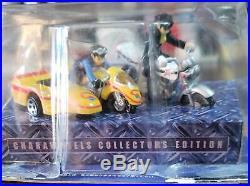 (From Japan) 11 HOT WHEELS BANDAI CHARA Masked Rider, Guard Chaser, Kikaider