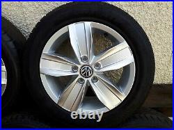 GENUINE VW CADDY ALLOY WHEELS 16 new style from 2021 caddy 5 x 112 with tyres