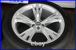 Genuine New Audi Q8 S-line 21 Alloy Wheels (original Hankook Tyres From New)