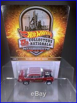 HOT WHEELS 17th NATIONAL CONVENTION 55 GASSER #2799/2800 RARE# Card 1# From Last