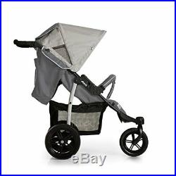 Hauck Viper SLX From Birth to 22Kg Three Wheel Stroller with raincover, Grey